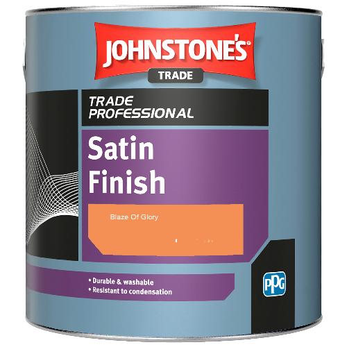 Johnstone's Satin Finish - Blaze Of Glory - 2.5ltr