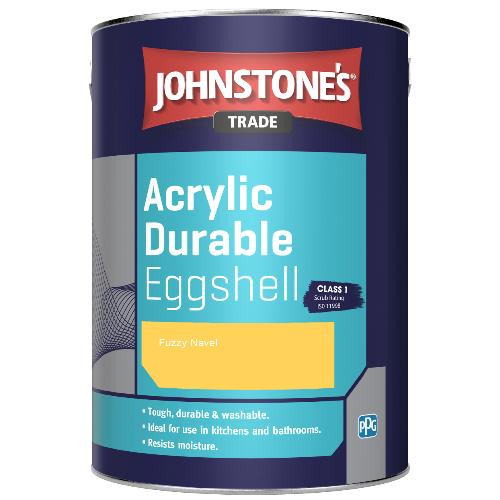 Johnstone's Trade Acrylic Durable Eggshell - Fuzzy Navel - 5ltr