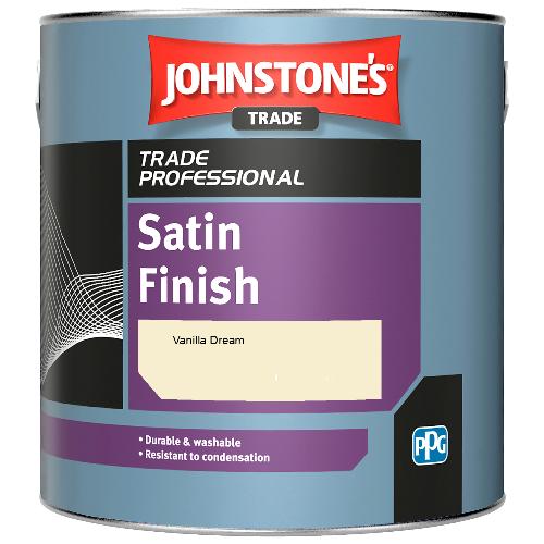Johnstone's Satin Finish - Vanilla Dream - 2.5ltr