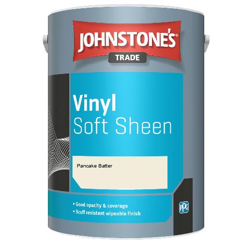 Johnstone's Trade Vinyl Soft Sheen - Pancake Batter - 2.5ltr