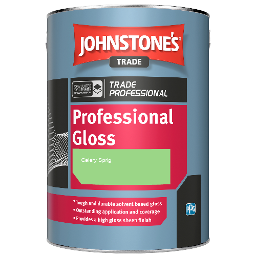 Johnstone's Professional Gloss - Celery Sprig - 1ltr