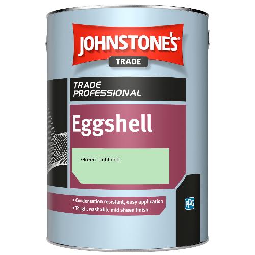 Johnstone's Eggshell - Green Lightning - 5ltr