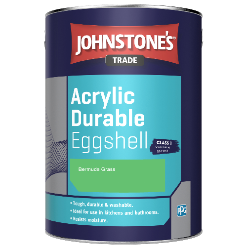 Johnstone's Trade Acrylic Durable Eggshell - Bermuda Grass - 2.5ltr