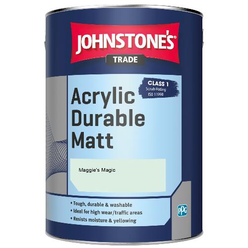 Johnstone's Trade Acrylic Durable Matt - Maggie's Magic - 5ltr