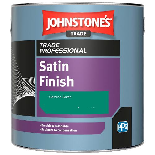 Johnstone's Satin Finish - Carolina Green - 2.5ltr