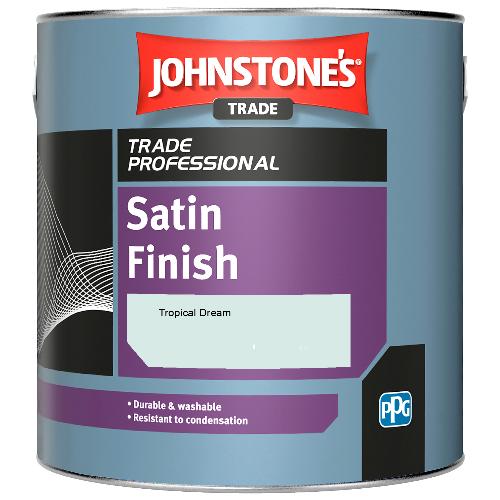 Johnstone's Satin Finish - Tropical Dream - 1ltr