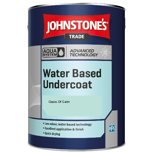 Johnstone's Aqua Water Based Undercoat - Oasis Of Calm - 1ltr