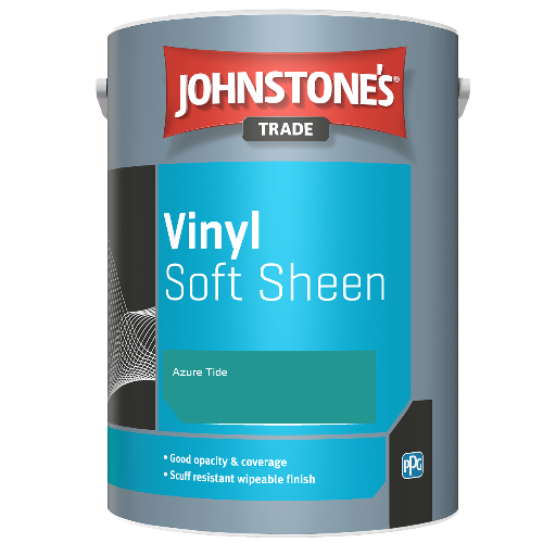 Johnstone's Trade Vinyl Soft Sheen - Azure Tide - 5ltr