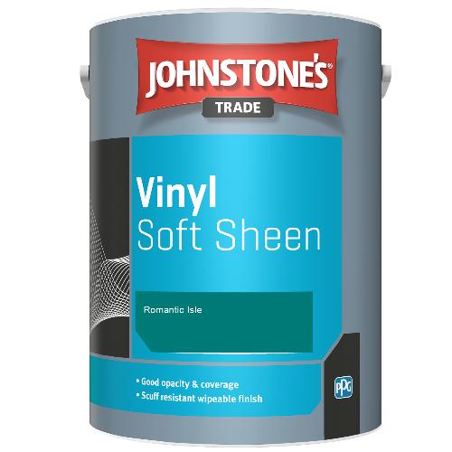 Johnstone's Trade Vinyl Soft Sheen - Romantic Isle - 2.5ltr