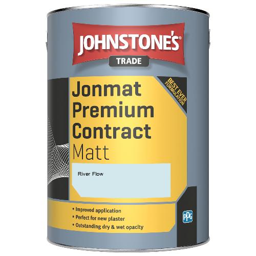Johnstone's Trade Jonmat Premium Contract Matt - River Flow - 5ltr