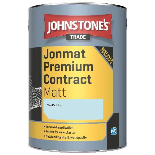 Johnstone's Trade Jonmat Premium Contract Matt - Surf's Up - 5ltr