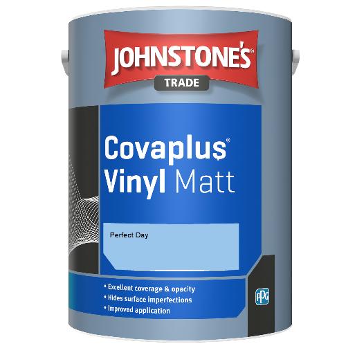 Johnstone's Trade Covaplus Vinyl Matt - Perfect Day  - 1ltr