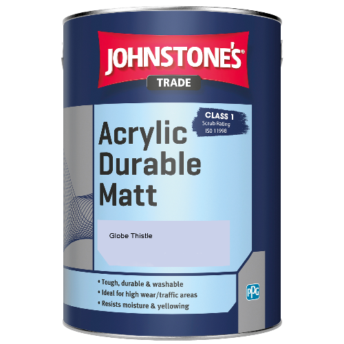 Johnstone's Trade Acrylic Durable Matt - Globe Thistle - 5ltr