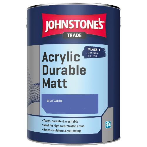 Johnstone's Trade Acrylic Durable Matt - Blue Calico - 2.5ltr