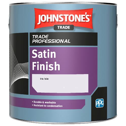 Johnstone's Satin Finish - Iris Isle - 2.5ltr