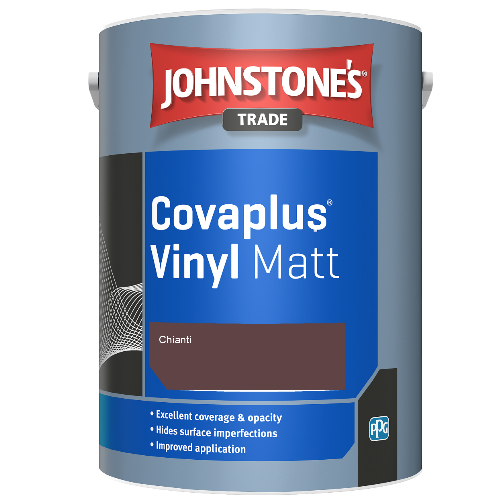 Johnstone's Trade Covaplus Vinyl Matt - Chianti - 2.5ltr