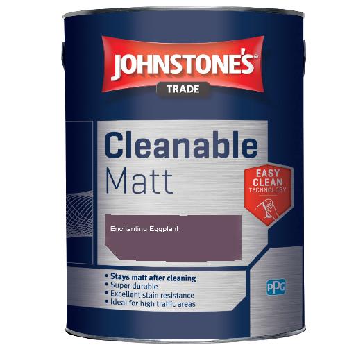 Johnstone's Trade Cleanable Matt - Enchanting Eggplant - 2.5ltr