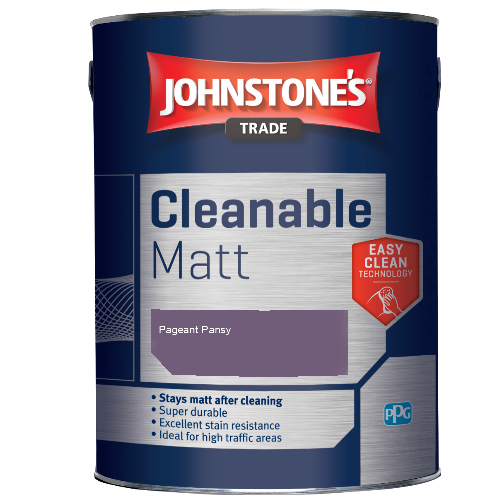 Johnstone's Trade Cleanable Matt - Pageant Pansy - 5ltr