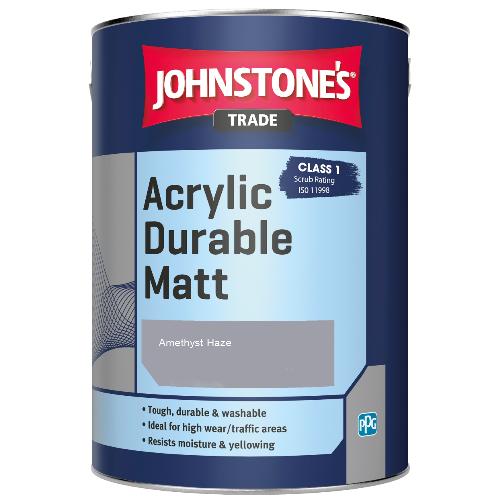 Johnstone's Trade Acrylic Durable Matt - Amethyst Haze - 2.5ltr