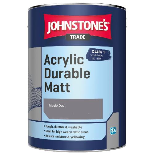 Johnstone's Trade Acrylic Durable Matt - Magic Dust - 2.5ltr