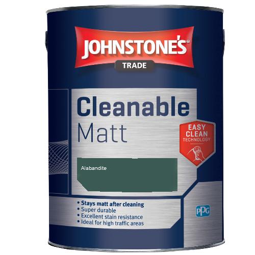 Johnstone's Trade Cleanable Matt - Alabandite  - 2.5ltr