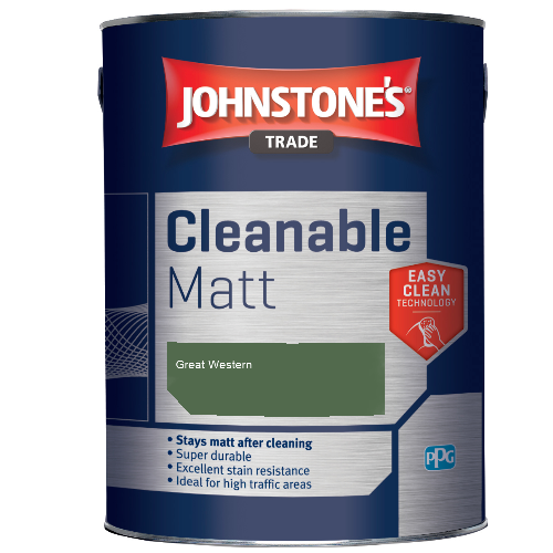 Johnstone's Trade Cleanable Matt - Great Western  - 2.5ltr