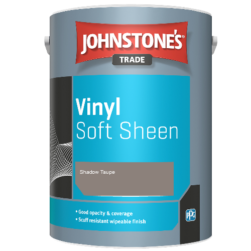 Johnstone's Trade Vinyl Soft Sheen - Shadow Taupe - 2.5ltr