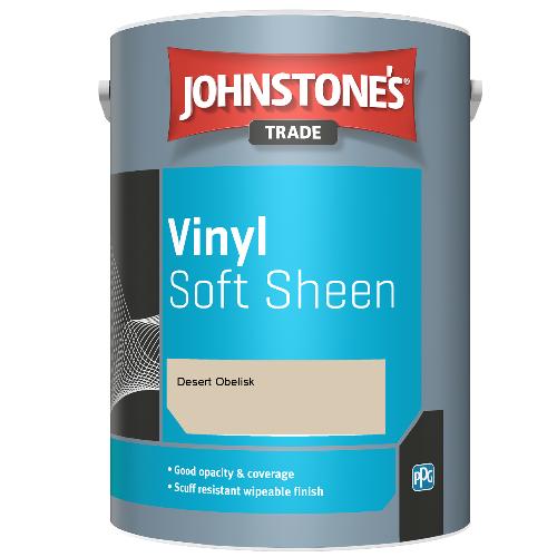 Johnstone's Trade Vinyl Soft Sheen - Desert Obelisk - 2.5ltr