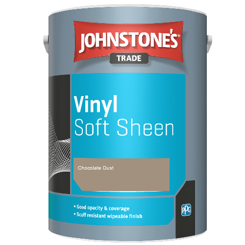 Johnstone's Trade Vinyl Soft Sheen - Chocolate Dust  - 2.5ltr