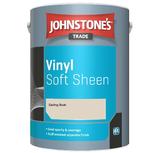 Johnstone's Trade Vinyl Soft Sheen - Sailing Boat - 2.5ltr