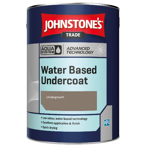 Johnstone's Aqua Water Based Undercoat - Undergrowth - 1ltr