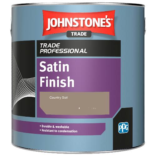 Johnstone's Satin Finish - Country Soil  - 1ltr