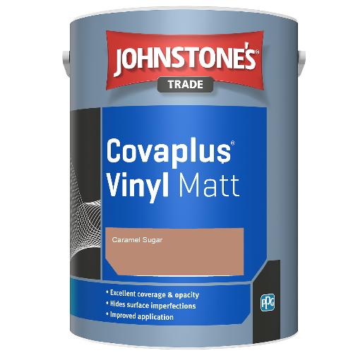 Johnstone's Trade Covaplus Vinyl Matt - Caramel Sugar - 1ltr