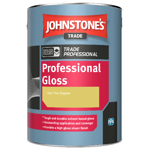 Johnstone's Professional Gloss - Got The Giggles - 1ltr