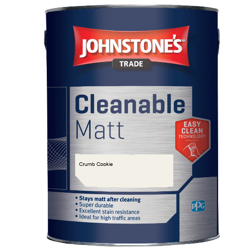 Johnstone's Trade Cleanable Matt - Crumb Cookie - 2.5ltr