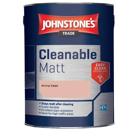 Johnstone's Trade Cleanable Matt - Shrimp Salad - 2.5ltr