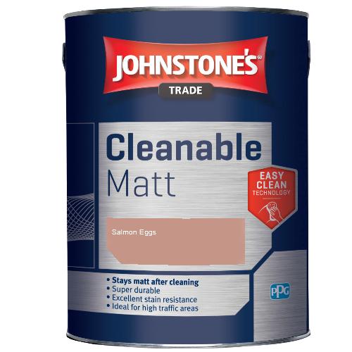 Johnstone's Trade Cleanable Matt - Salmon Eggs - 2.5ltr
