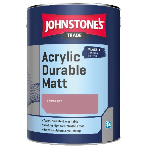 Johnstone's Trade Acrylic Durable Matt - Thornberry - 2.5ltr