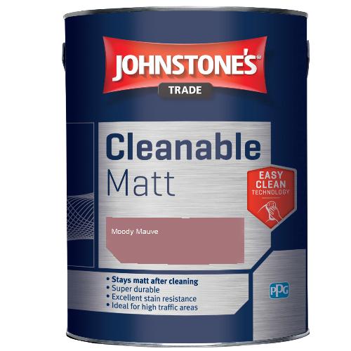 Johnstone's Trade Cleanable Matt - Moody Mauve - 2.5ltr