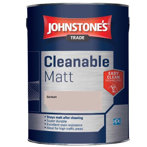Johnstone's Trade Cleanable Matt - Belleek - 2.5ltr