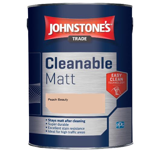 Johnstone's Trade Cleanable Matt - Peach Beauty - 2.5ltr
