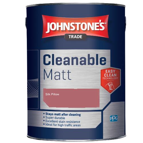 Johnstone's Trade Cleanable Matt - Silk Pillow - 2.5ltr
